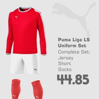 PUMA LIGA LONG-SLEEVE JERSEY