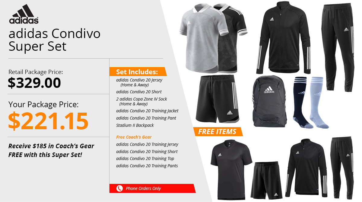 Adidas Condivo Super Set
