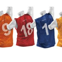 KwikGoal Tryout Numbered Vests (Set of 18) Thumbnail