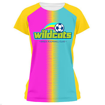 Ladies Audio Vibration Soccer Jersey and Uniform Thumbnail