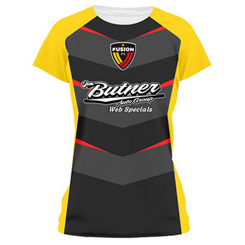 Ladies Chevron Shadow Soccer Jersey and Uniform Thumbnail