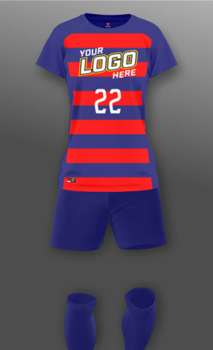 Women's USA Soccer Uniform Thumbnail