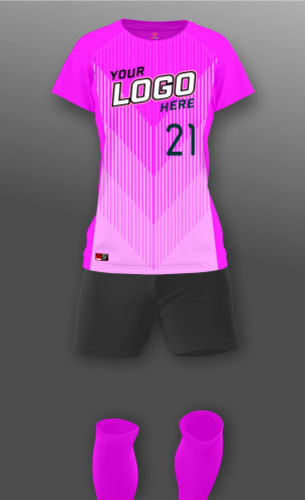 Women's Fade Soccer Uniform Thumbnail