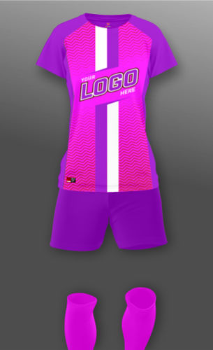 Women's Roma Soccer Uniform Thumbnail