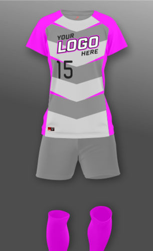 Women's Chevron Soccer Uniform Thumbnail
