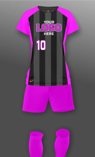 Women's Stripe Soccer Uniform Thumbnail