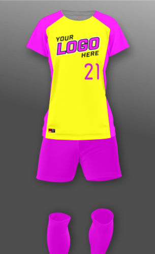 Women's Open Canvas Soccer Uniform Thumbnail