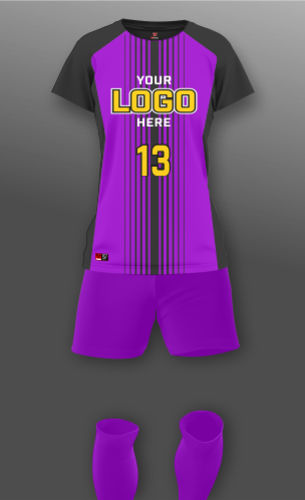 Women's Barcelona Soccer Uniform Thumbnail