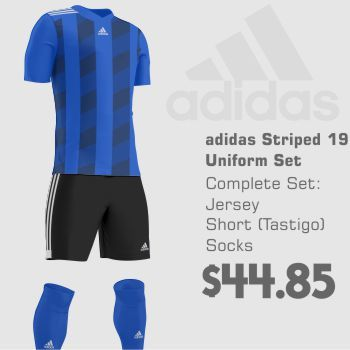 d08e23698 adidas Striped 19 Soccer Uniform