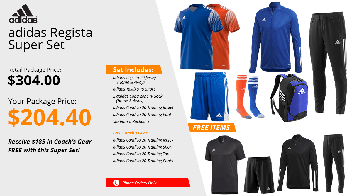 Adidas Regista Super Set