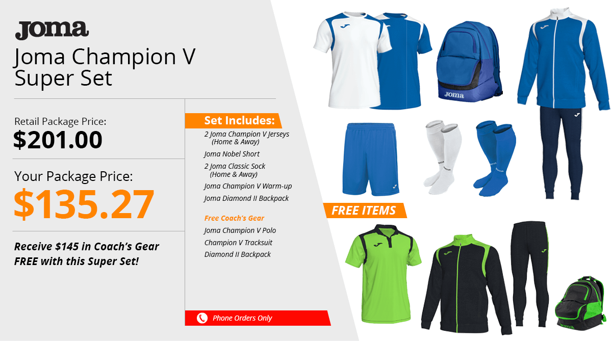 Joma Champion V Super Set