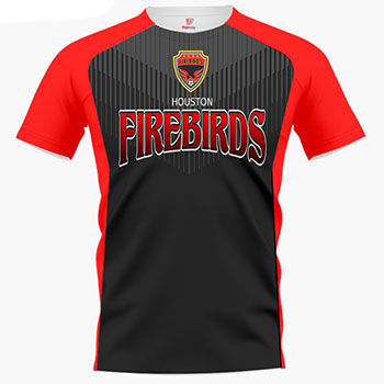Thunderbird Custom Soccer Jersey & Uniform Thumbnail