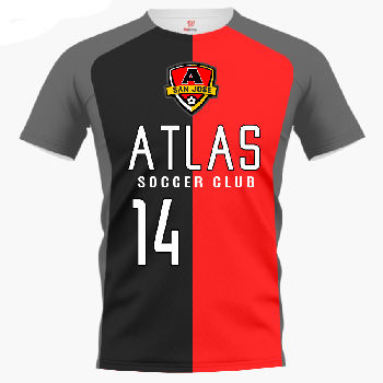 Atlas Custom Soccer Jersey & Uniform Thumbnail