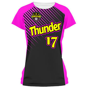 Raptor Ladies Soccer Jersey and Uniform Thumbnail