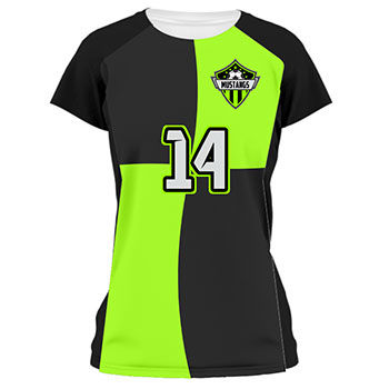 4 Square Ladies Soccer Jersey and Uniform Thumbnail