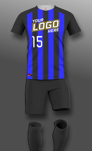 Stripes II - Custom Soccer Uniform Thumbnail