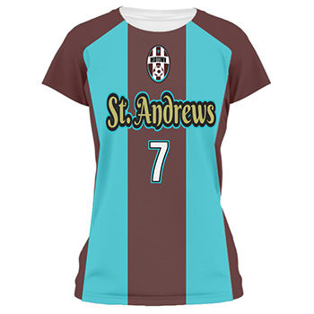 Ladies Flag Soccer Jersey and Uniform Thumbnail